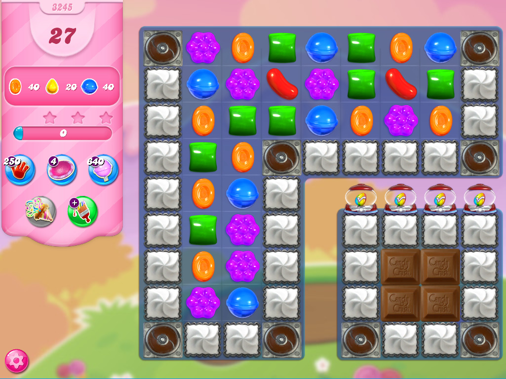 Candy Crush Saga level 3245