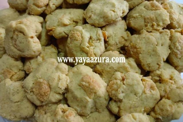 Resepi Biskut Cornflakes Crunchy Cookies