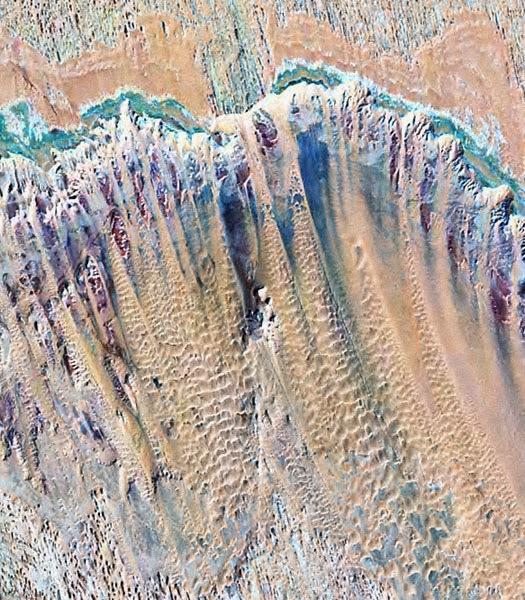 Foto Satélite NASA LANDSAT Oasis de Kharga