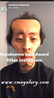 Handsome squidward filter instagram | How to get the Handsome squidward cartoon filter on Instagram