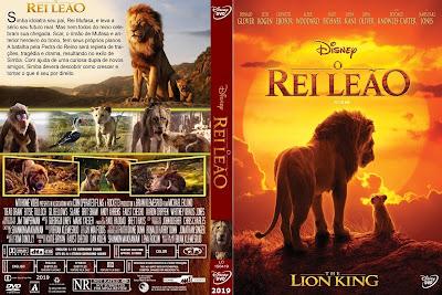 Filme O Rei Leão (2019) DVD Capa
