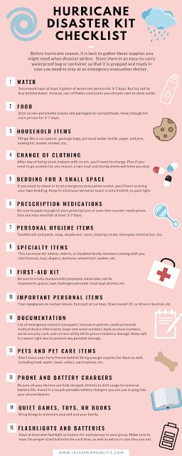 Hurricane disaster essentials