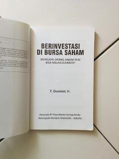 Berinvestasi Di Bursa Saham T. Dominic H