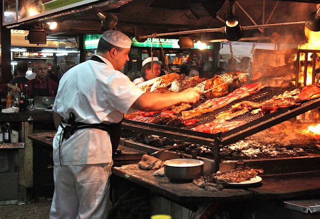 Comidas típicas em Buenos Aires