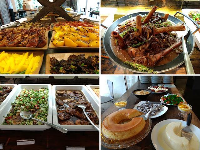 Preço do restaurante buffet do Inhotim - MG