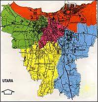 Peta Service AC SPLIT DUCT Area Jakarta Pusat