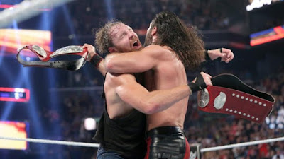 Dean Ambrose Shield Turn Tag Seth Rollins Raw Split