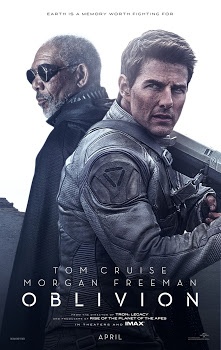 Poster Of Oblivion (2013) In Hindi English Dual Audio 300MB Compressed Small Size Pc Movie Free Download Only At worldfree4u.com