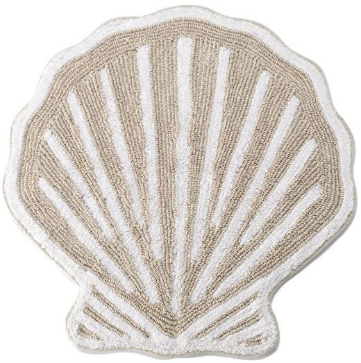 Sea Shell Shaped Bath Rug