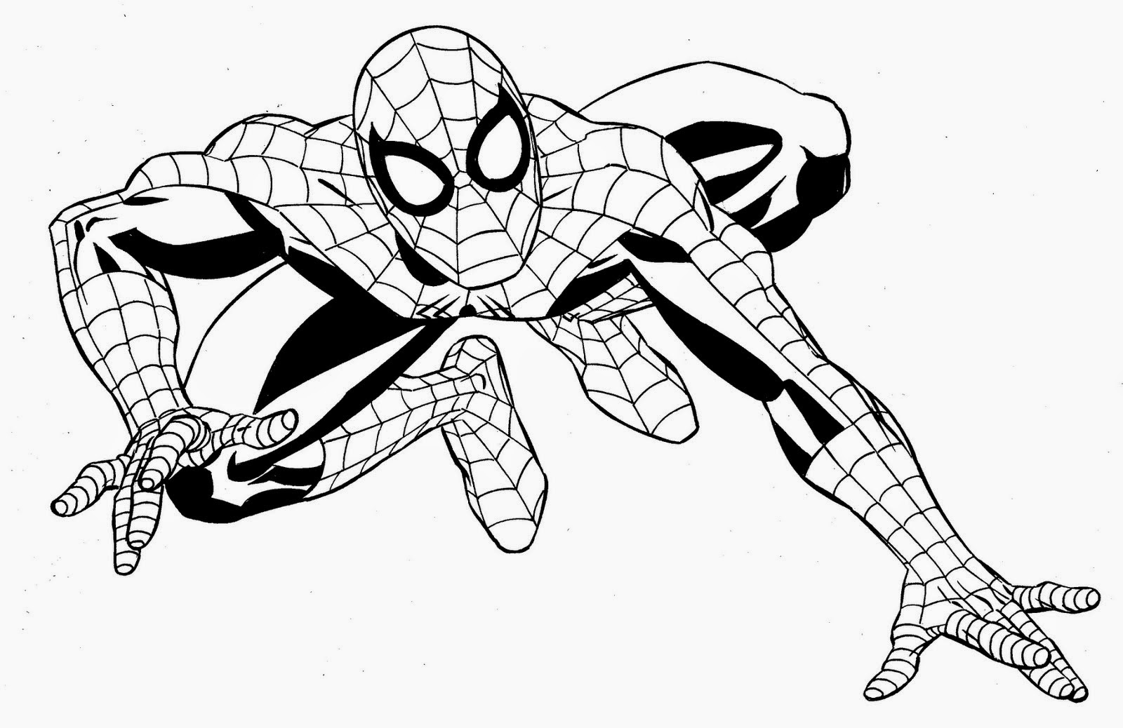superhero free coloring pages - photo#38