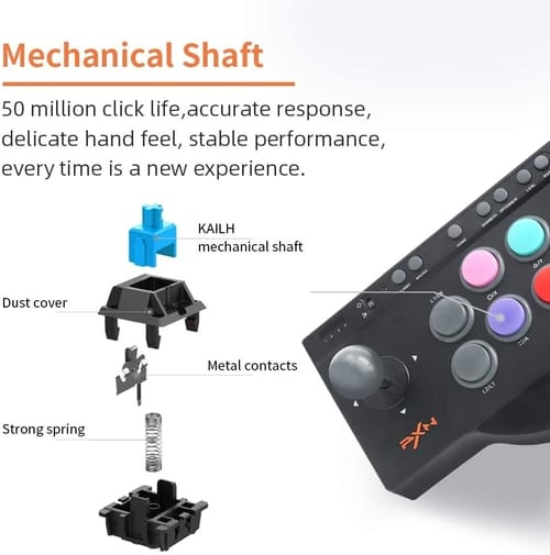 Review PXN Arcade Fight Stick Fighting Game Joystick