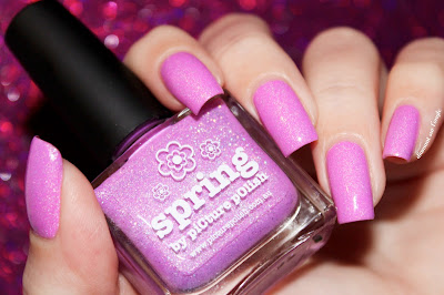 """Swatch of the nail polish """"Spring"""" from Picture Polish"""