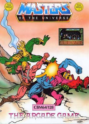 Portada videojuego Masters of the Universe - The Arcade Game