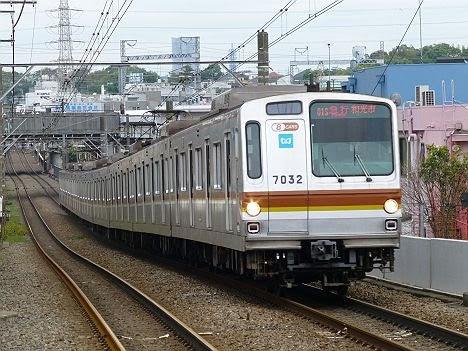 東急東横線 副都心線直通 急行 和光市行き3 東京メトロ7000系