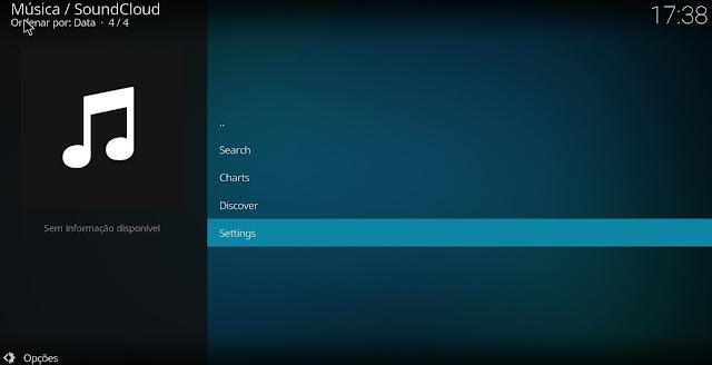 Tutorial - Como instalar o SoundCloud no Kodi