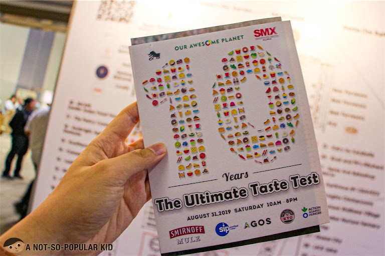 Ultimate Taste Test 10th Year in SMX Convention, SM Aura
