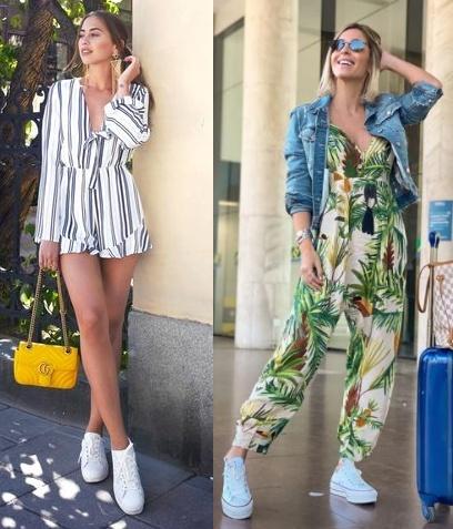 Guia de moda Looks estilosos com tênis, Kenza Zouiten Subosic, Renata Vervloet