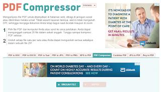 Cara Mengurangi Ukuran PDF Online Tanpa Software