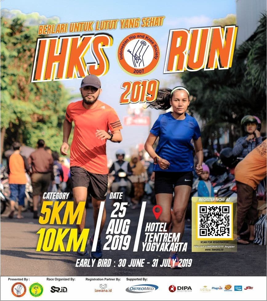 Indonesian Hip and Knee Society IHKS Run • 2019