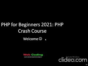 Coupon Gratis : PHP for Beginners: PHP Crash Course 2021 - Dalam Belajar
