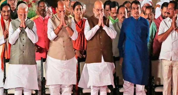 Know about Council of Ministers (Which minister has which Section)