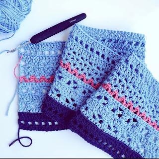 punto abiertos crochet
