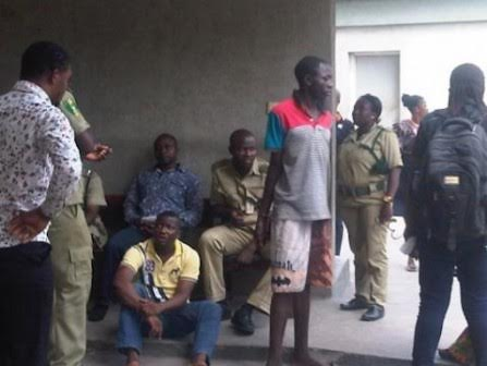 Photo: 20 year old man arrested for giving false information to the police