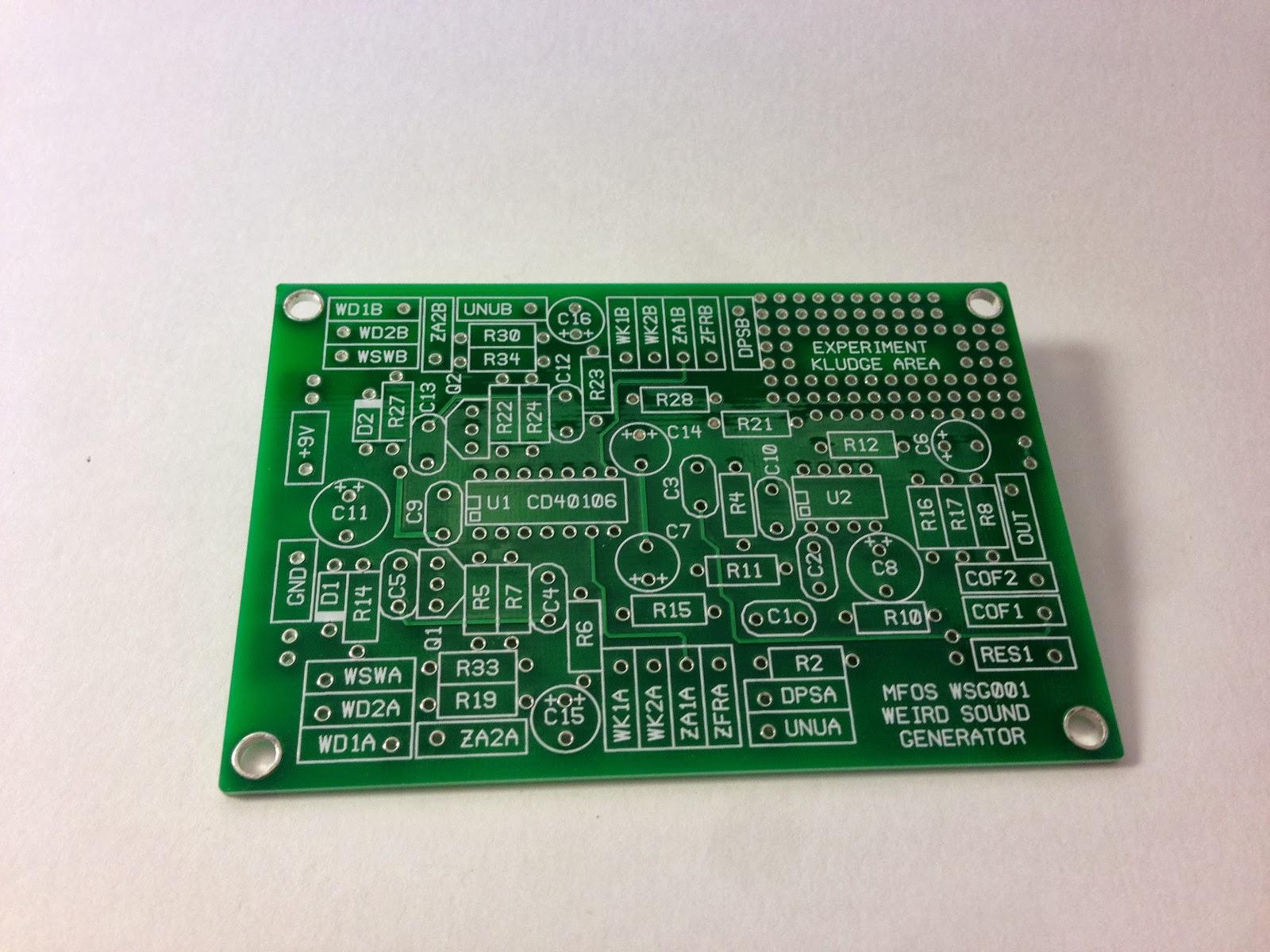 MATRIXSYNTH: MFOS Weird Sound Generator (DIY SYNTH) Kit