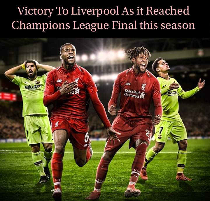 Liverpool 4 0 Barcelona Result 4 3 Agg: 0 Barcelona A Victory For Liverpool To