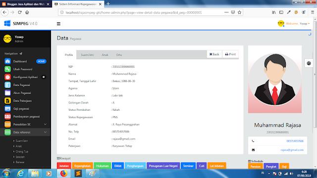 """alt=""""sistem informasi manajemen kepegawaian berbasis web"""""""