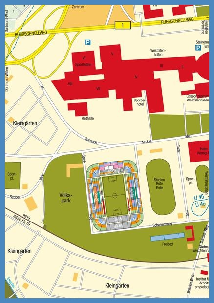 Signal Iduna Park Karte