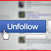 Unfollow someone On Facebook