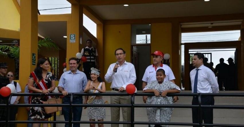 PRONIED: Entregan remodelada institución educativa para niños con habilidades especiales en Ucayali - www.pronied.gob.pe