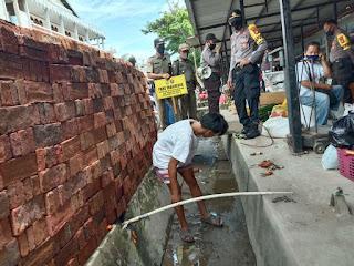Sat Binmas Polres Enrekang Lakukan Pembinaan Bagi Warga Yang Tidak Mematuhi Perbup Nomor 42 Tentang Covid 19