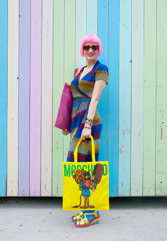 Moschino x Magnum, giveaway, tote bag