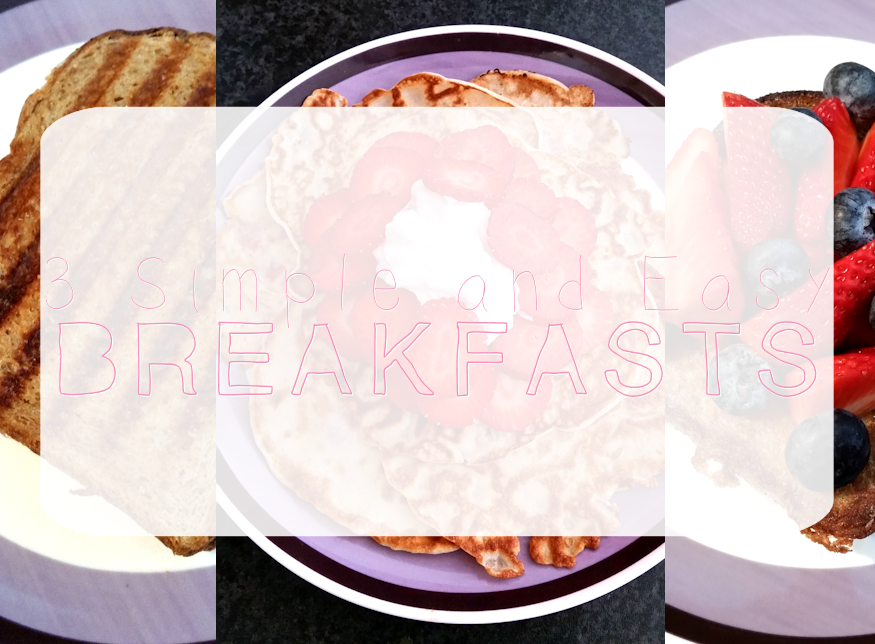 french toast, pancakes, grilled cheese