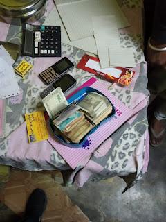 दो सटोरिये पुलिस गिरफ्त में, सट्टा पट्टी एवं नगद 14 हजार 360 रूपये जप्त