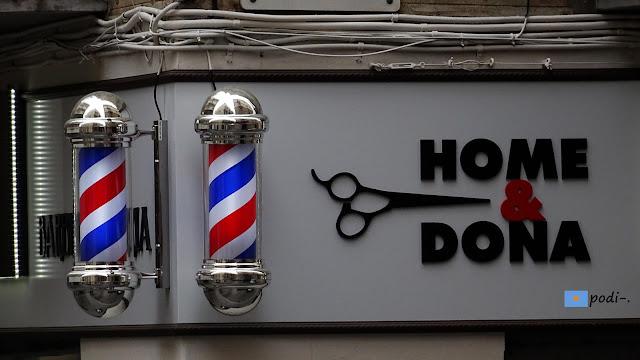 pali di barbiere peluquería