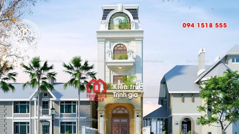 Mê tít thiết kế nhà phố nhỏ đẹp kết hợp nội thất thông minh - Mã số NP1334 - Ảnh 1