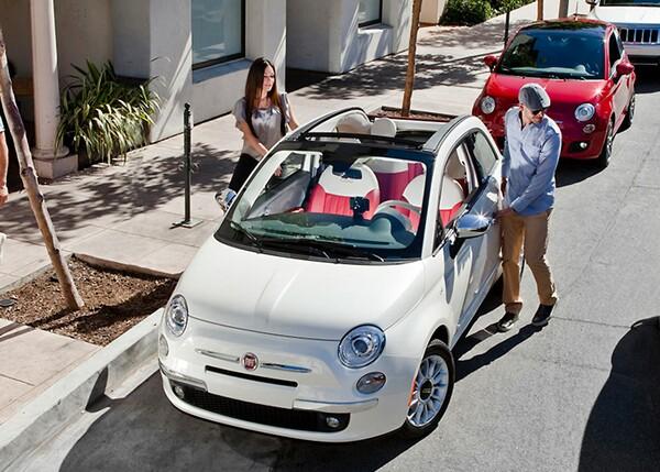 Fiat 500 Cabrio Convertible