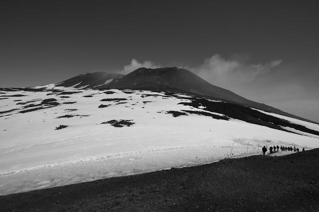 Quota 2900 m-Vulcano Etna