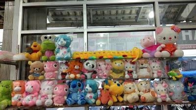 Boneka Cantik tersedia di Kembang Mart, Hadiah Spesial untuk orang spesial