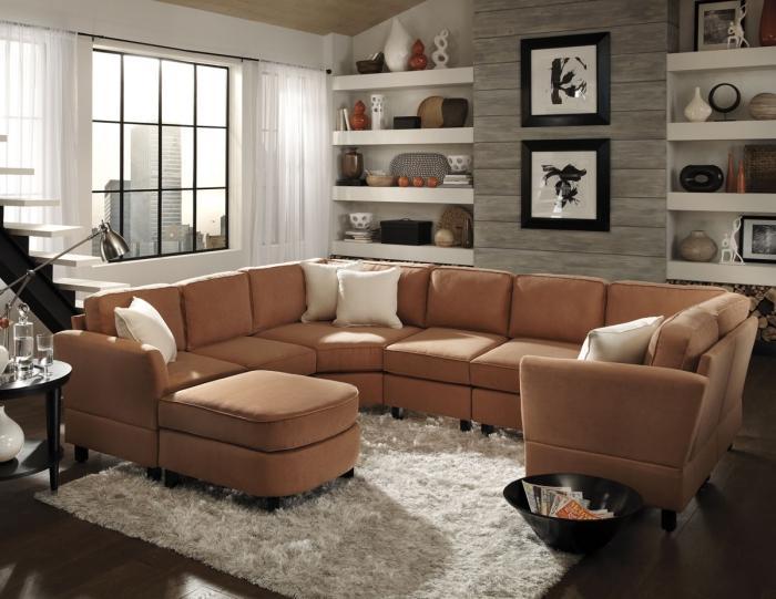 15 Ide Ruang Tamu dengan Sofa
