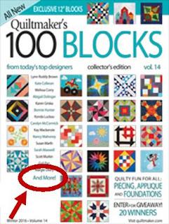 Quiltmaker 100 Blocks blog hop - Slice of Pi Quilts