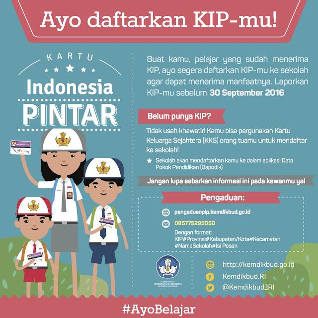 mendaftar kartu indonesia pintar