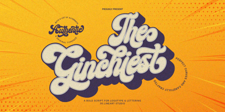Ginchiest Fancy Font Free Download