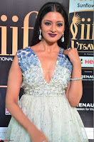 Vimala Raman in Spicy Deep Neck Sleeveless Dress at IIFA Utsavam Awards 2017  Day 2 at  28.JPG