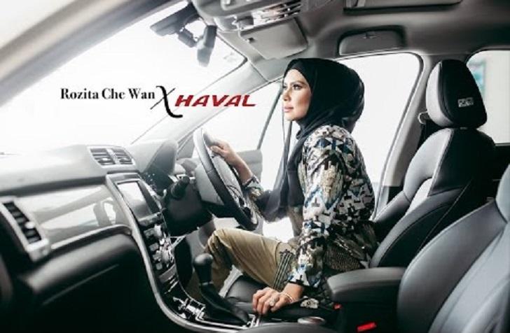 Che Ta Beraya Sakan Dengan Kereta SUV Mewah Haval H2 (Foto + Video)