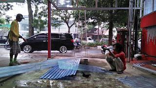 Jasa pembuatan teras kanopi Malang
