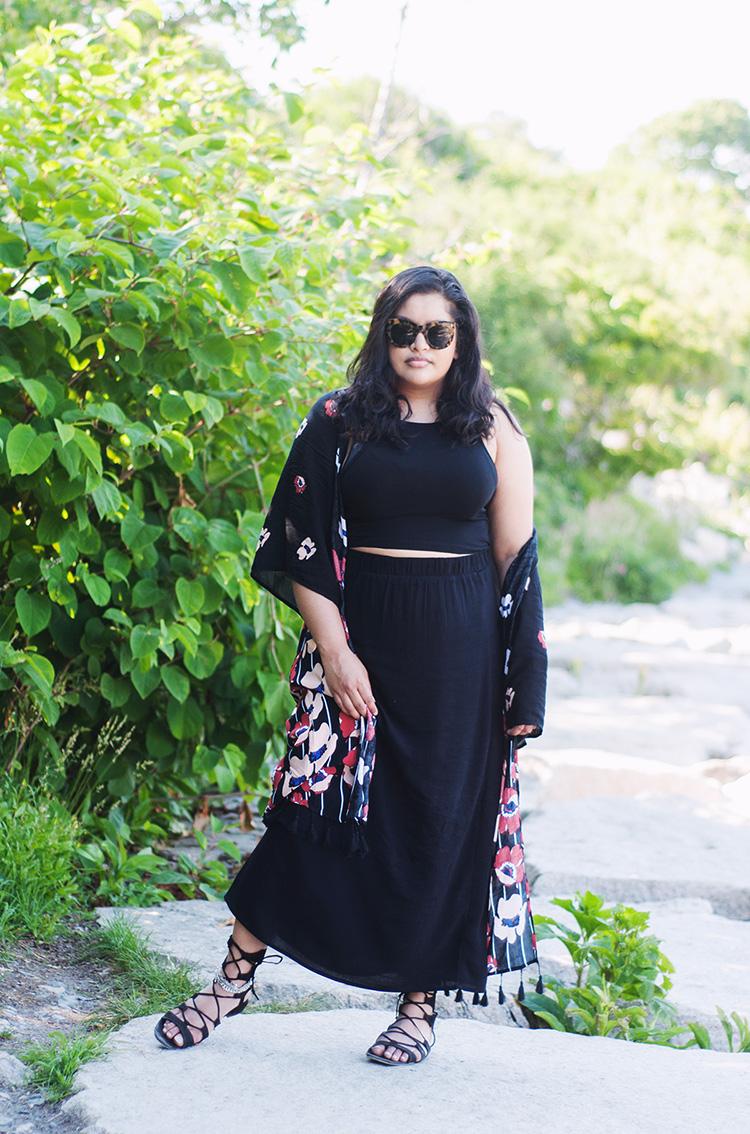 summer boho style, kimono style, urban outfitters poppy kimono, uo kimono